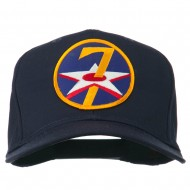 7th Air Force Division Patched Cap - Navy