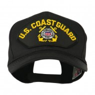 Other Embroidered Military Large Patched Cap - Black Coast