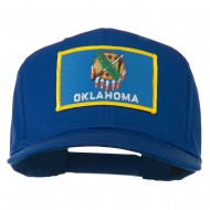 Oklahoma State High Profile Patch Cap - Royal