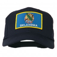 Oklahoma State High Profile Patch Cap - Navy