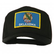 Oklahoma State High Profile Patch Cap - Black