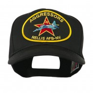 Other Embroidered Military Large Patched Cap - Black Aggressors