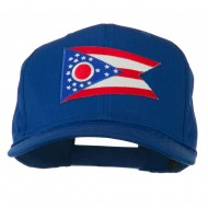 Ohio State High Profile Patch Cap - Royal