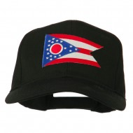 Ohio State High Profile Patch Cap - Black