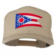 Ohio State High Profile Patch Cap - Khaki