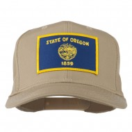 Oregon State High Profile Patch Cap - Khaki