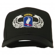 173rd Airborne Patch Cap - Black