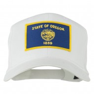 Oregon State High Profile Patch Cap - White