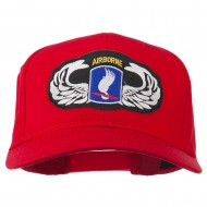 173rd Airborne Patch Cap - Red