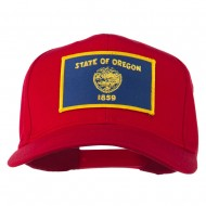 Oregon State High Profile Patch Cap - Red