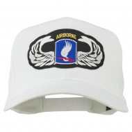 173rd Airborne Patch Cap - White