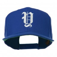 Old English Y Embroidered Cap - Royal