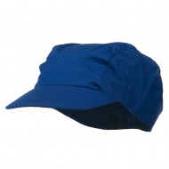 3 Panel Cotton Twill Sports Cap - Royal