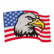 Assorted Patriotic Patches - Eagle