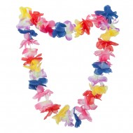 37 Inches Plum Blossom Hawaiian Lei - Multi