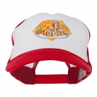 Pueblo Communities Embroidered Foam Mesh Back Cap - Red White Red