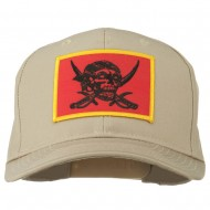 Pirates Skull and Choppers Patch Cap - Khaki