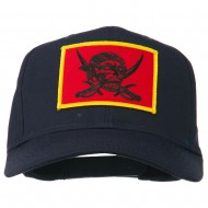 Pirates Skull and Choppers Patch Cap - Navy