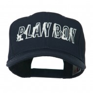 Playboy Embroidered Cap - Navy
