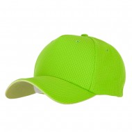 5 Panel Pro Style Deluxe Mesh Cap - Lime