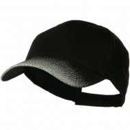 Constructed Speckle Bill Accent Cap - Black Grey