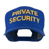 Private Security Embroidered Cap - Royal