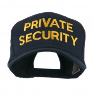 Private Security Embroidered Cap - Navy