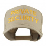 Private Security Embroidered Cap - Khaki