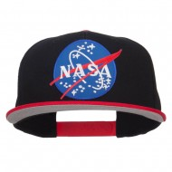 Lunar NASA Patched Two Tone Snapback - Red Black
