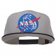 Lunar NASA Patched Two Tone Snapback - Black Grey