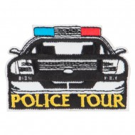 Police Department Tour Patches - White