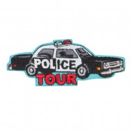 Police Department Tour Patches - Blue