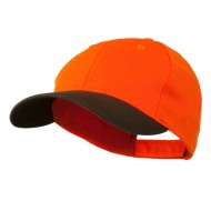 Poly Twill Neon Cap - Orange Brown