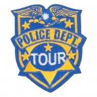 Police Department Tour Patches - Royal