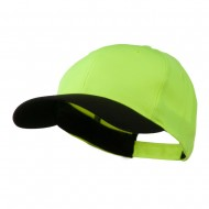 Poly Twill Neon Cap - Yellow Black