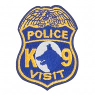 Police Department Tour Patches - Navy White