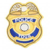 Police Department Tour Patches - Yellow