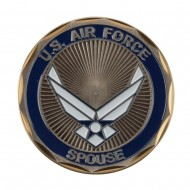 Proud U.S. Air Force Coin (2) - Proudly Served