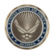 Proud U.S. Air Force Coin (2) - Retired