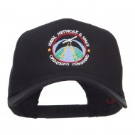 US Navy Naval Space Embroidered Cap - Black