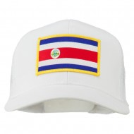 Costa Rica Patched Mesh Cap - White