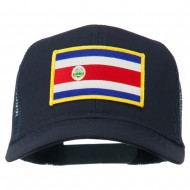 Costa Rica Patched Mesh Cap - Navy
