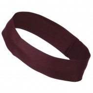 2 inch Removable Chino Twill Hat Band - Maroon