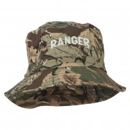 Ranger Embroidered Bucket Hat - Camo
