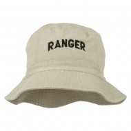 Ranger Embroidered Bucket Hat - Stone