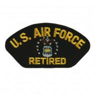 Big Size Retired Military Large Patch - Air Retired