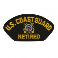 Big Size Retired Military Large Patch - CG Retired