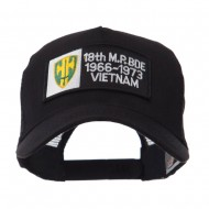 Army Rectangle Military Patched Mesh Cap - 18th MP