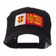 Army Rectangle Military Patched Mesh Cap - MACV