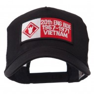 Army Rectangle Military Patched Mesh Cap - 20th Eng